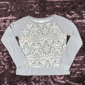 Embroidered Lightweight Sweatshirt